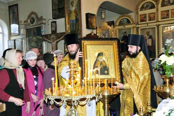 Общество православных врачей. Освящение иконы свт. Луки - 2