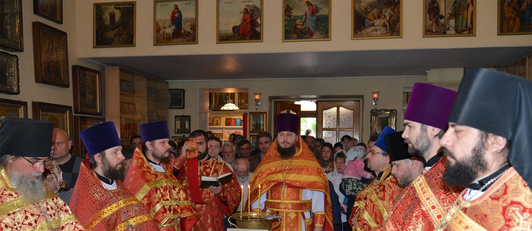 Престольный праздник в Георгиевском храме
