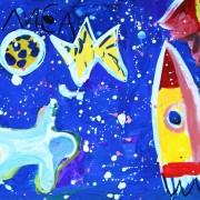 ракета-космонавт-солнце
