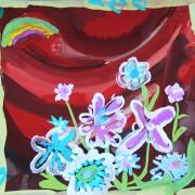 цветы-рамка