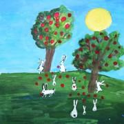 яблоки-зайцы