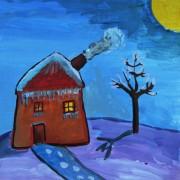 зима-дом