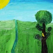 дерево-птичка