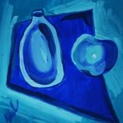 синий-натюоморт