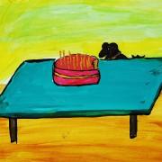 торт-мышка