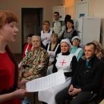 Сестры милосердия Елисаветинского сестричества поздравили с Пасхой своих подопечных в больнице №3 Таганрога