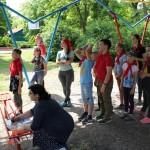 Воскресная школа Георгиевского храма завершила учебный год спартакиадой