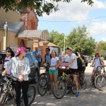 Состоялся молодежный велопробег в День семьи, любви и верности